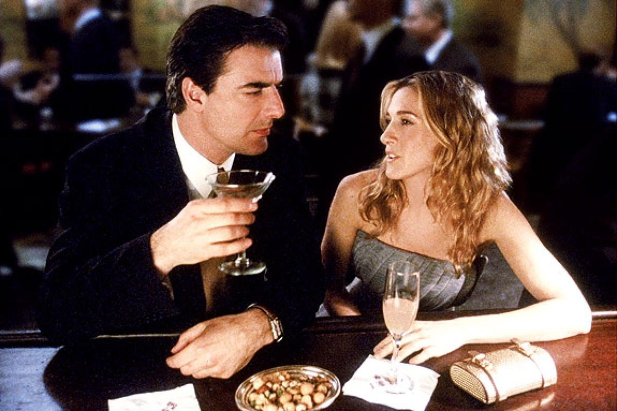 4. Big and Carrie on 'Sex and the City'