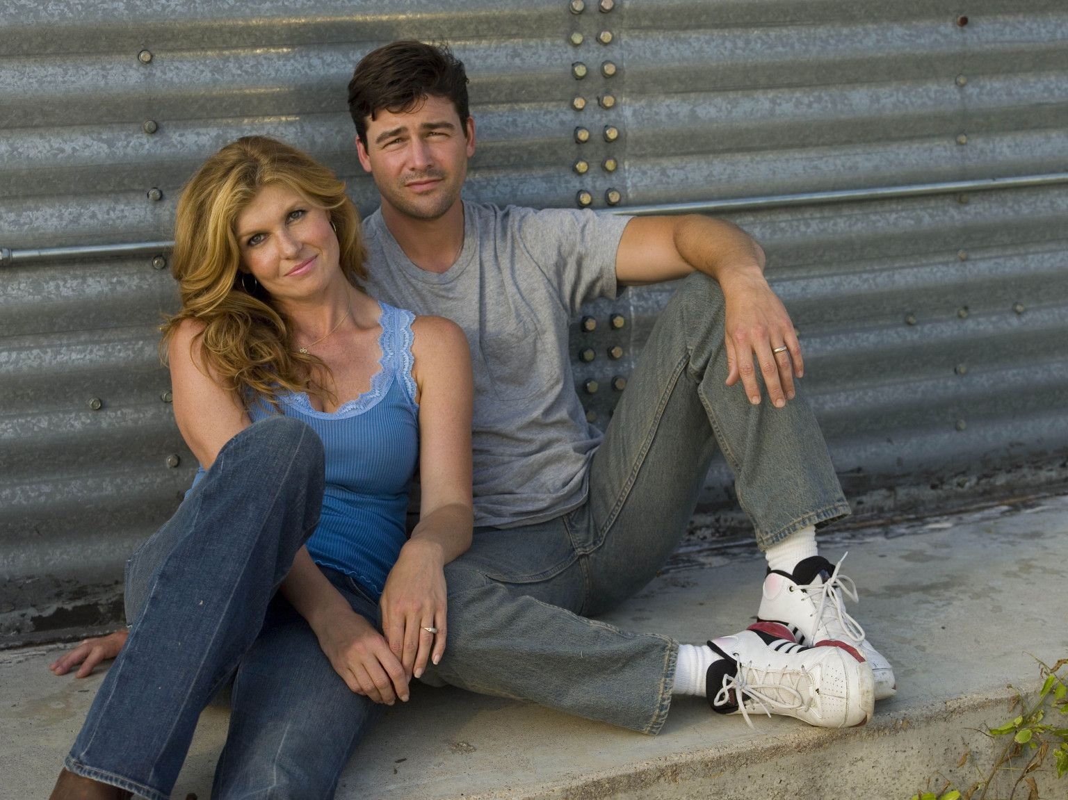 1. Coach Taylor and Tami on 'Friday Night Lights'