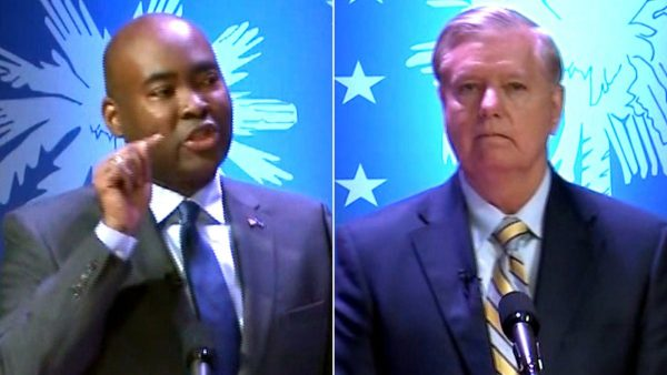 Jaime Harrison Runs Circles Around Lindsey Graham in South Carolina Senate Debate (Watch This Pillsbury Doughboy Get Cooked!)
