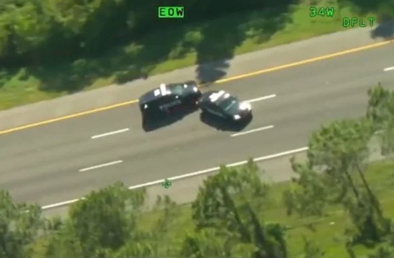 Meanwhile in Florida: Man Arrested After Stealing 2 Police Cruisers in Wild Car Chase (Says If You Love What You Do, You'll Never Have to Lease a Car)