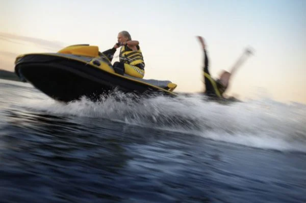Meanwhile in South Dakota: Woman Literally Tears Herself a New A-Hole In Jet Ski Accident