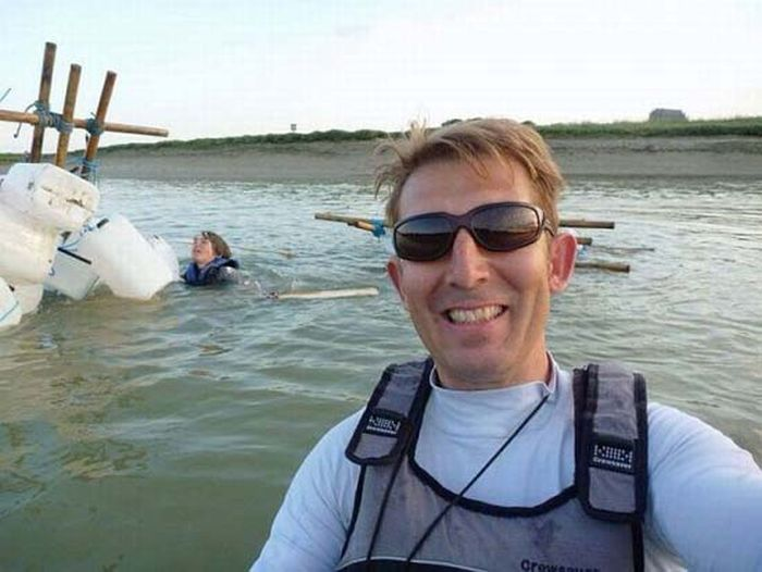 Selfie First, Rescue Later