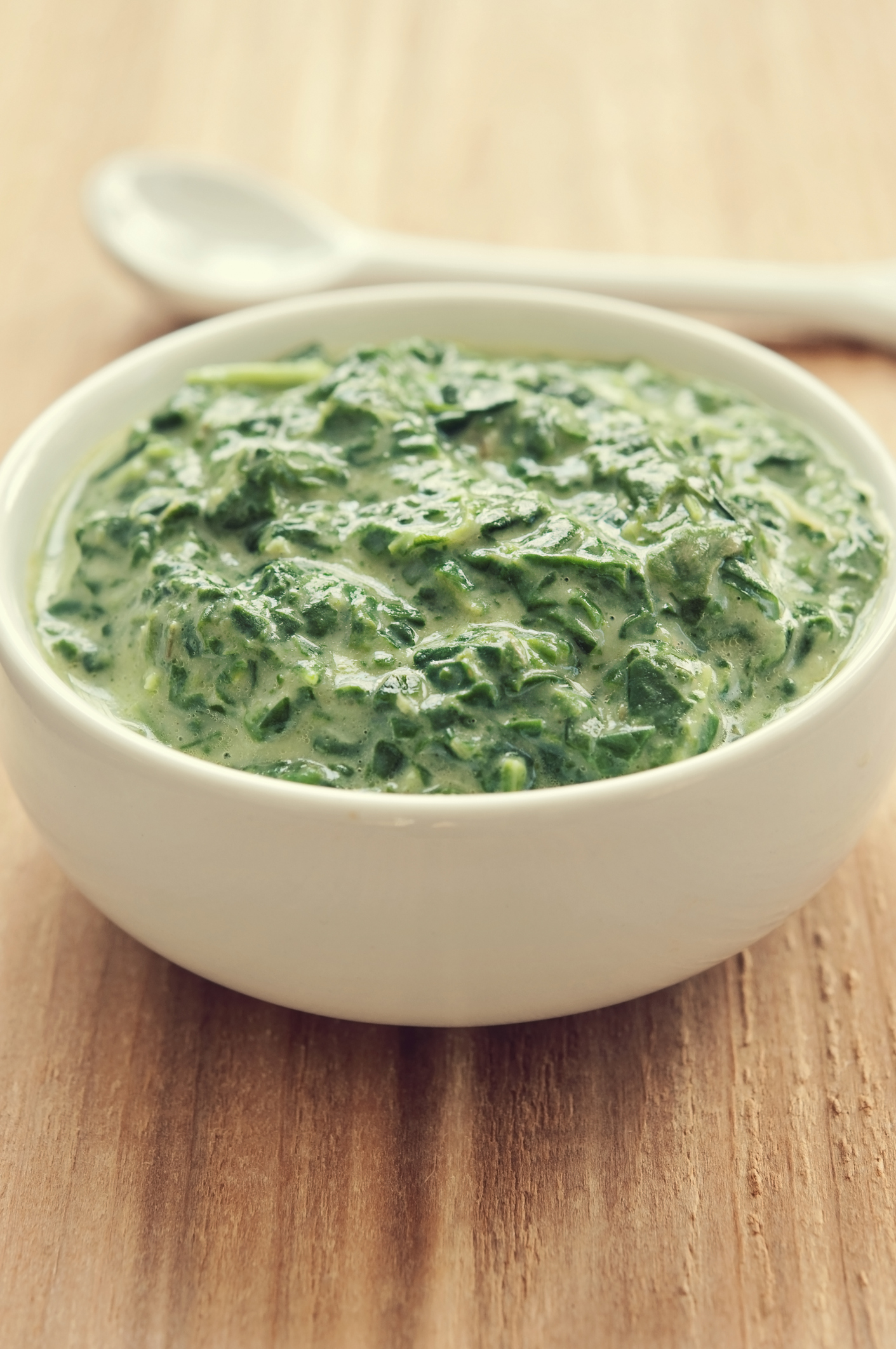 2. Creamed Spinach