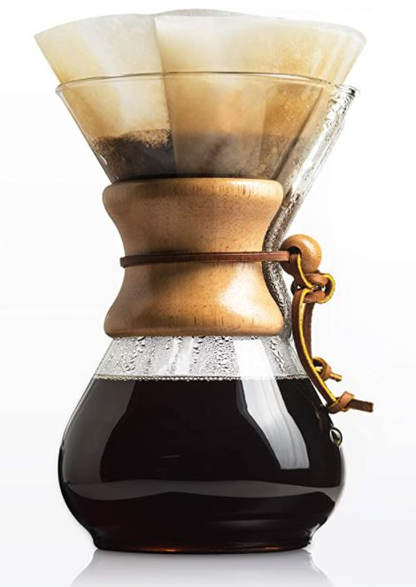 Chemex Pour-Over Glass Coffeemaker